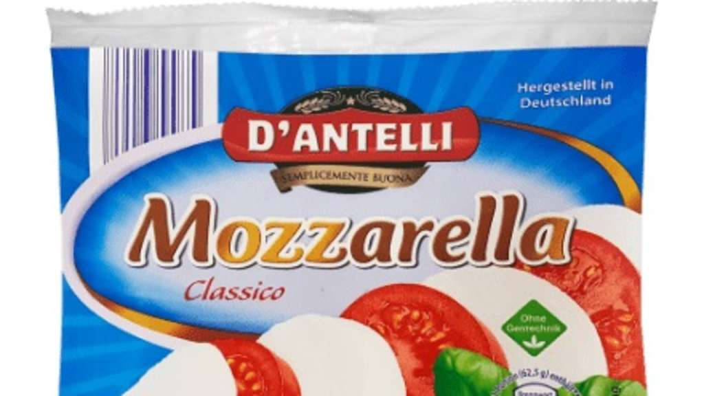 Mozzarella bei Aldi Nord zurückgerufen