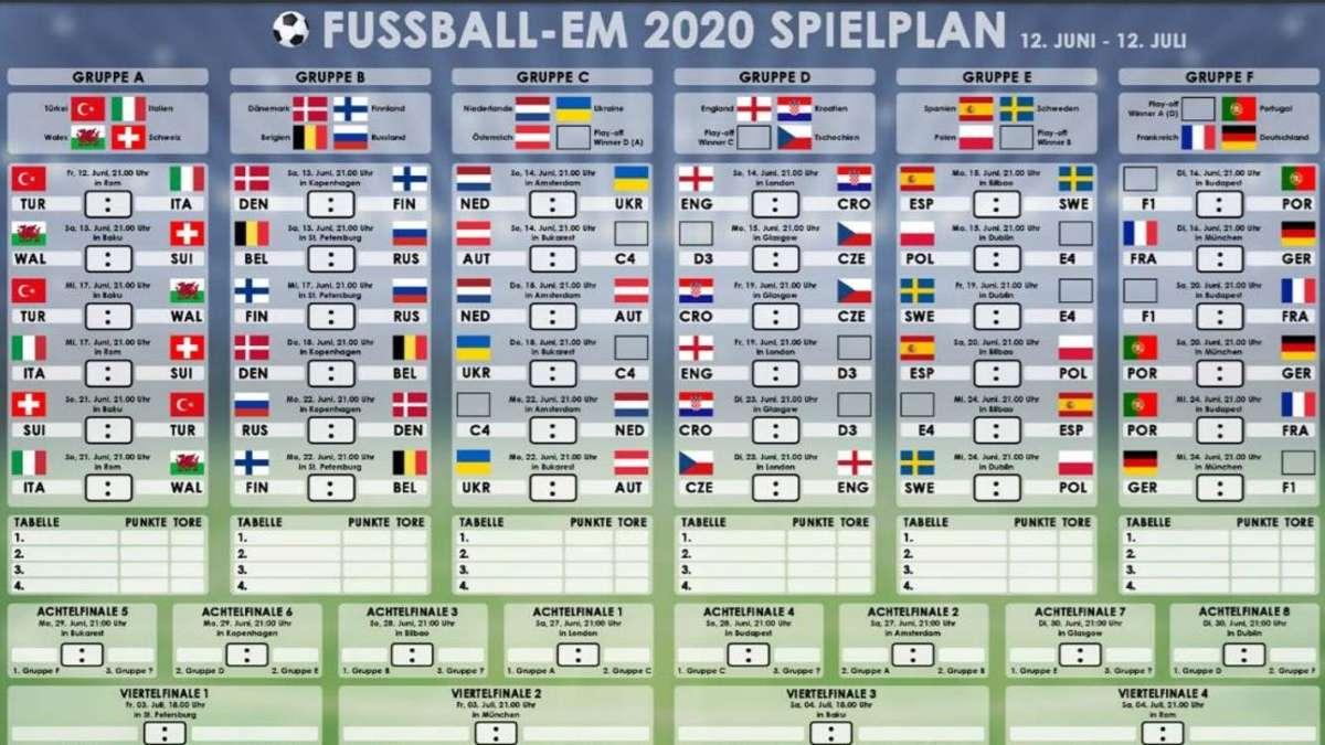 Deutsche Aufstellung Em 2021