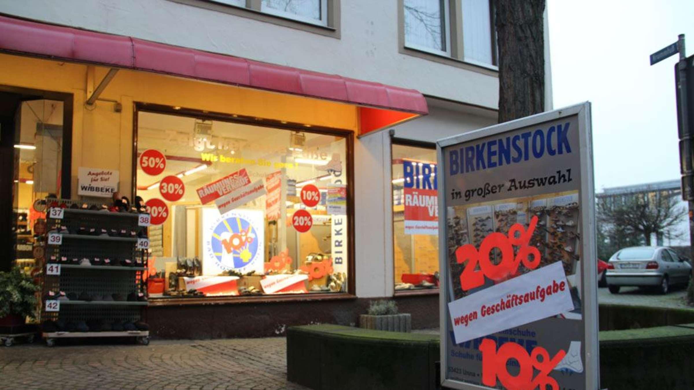 Unnaer Fußgängerzone: Diese Geschäfte machen dicht | Kreis Unna