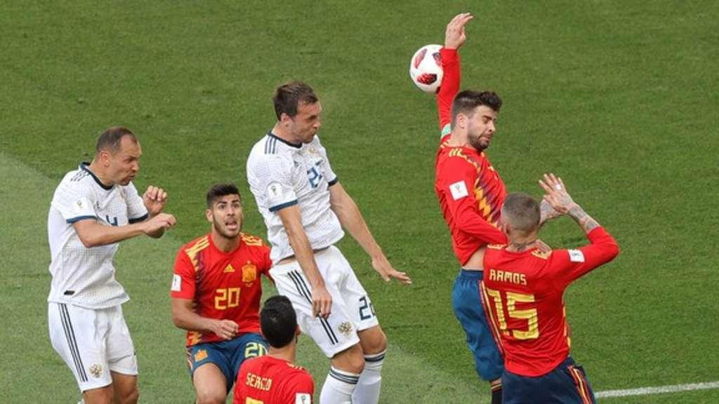 Handspiel Fußball
