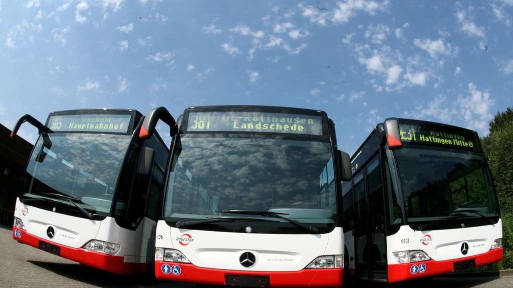 Der Verkehr wird elektrisch: Ab 2020 fahren Elektrobusse in drei Städten im Ruhrgebiet