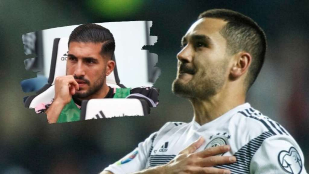 Emre Can (links) und Ilkay Gündogan. Fotos: dpa; Montage: RUHR24