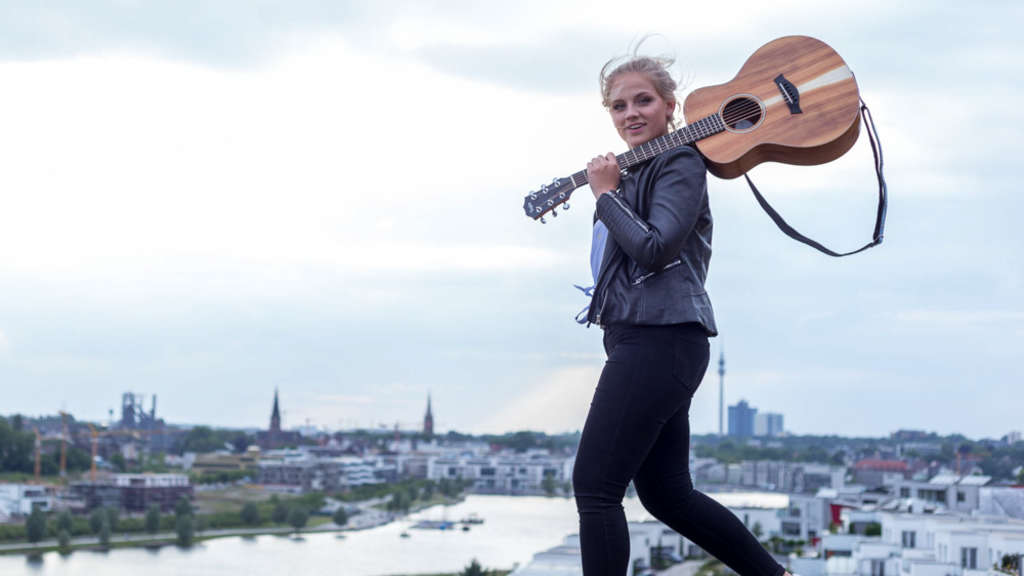 "Jo Marie Dominiak aus Dortmund will bei ""The Voice of Germany"" gewinnen. Foto: privat"