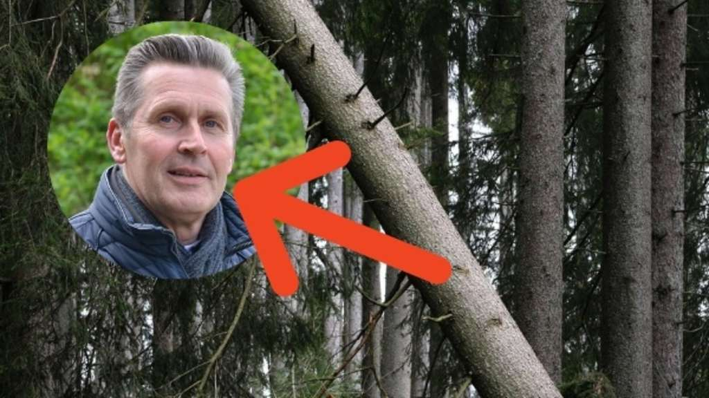 Marcus Kamplade ist Bochums erster Baum-Manager. Foto: Stadt Bochum, dpa; Montage: RUHR24