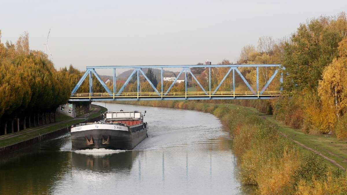 Datteln bei Recklinghausen: Ekel-Fund im Dortmund-Ems-Kanal | Kreis Recklinghausen - ruhr24.de