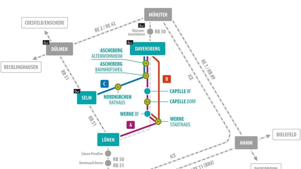 Bahn Ersatzplan