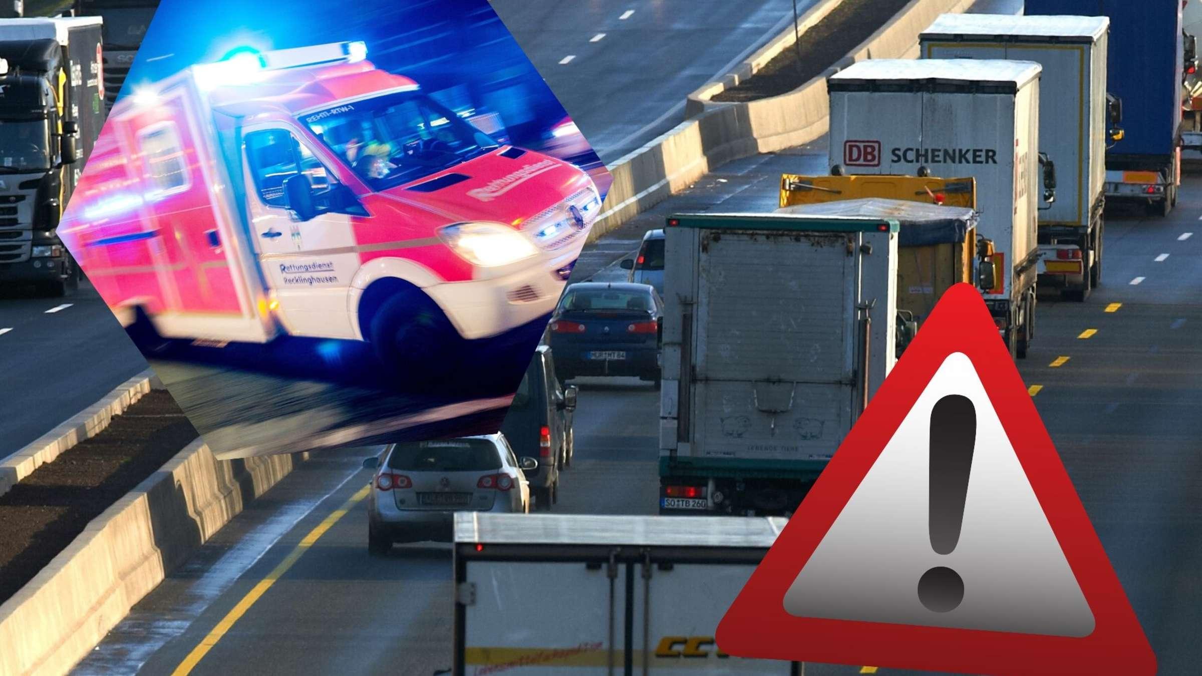 A1 Und A2 Unfalle Sperrungen Und Stau Im Ruhrgebiet Ruhrgebiet