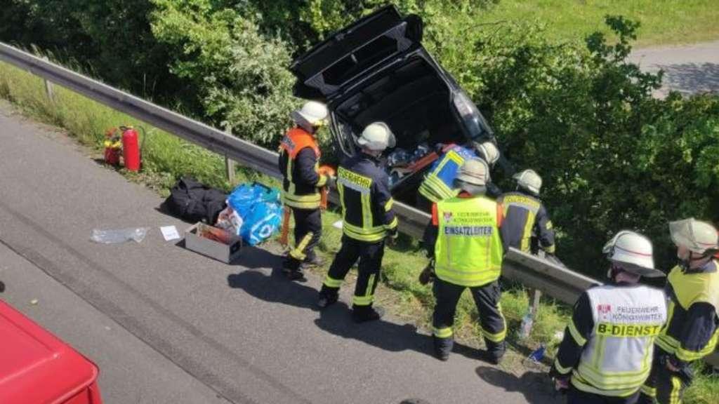 Unfall A3 Siebengebirge