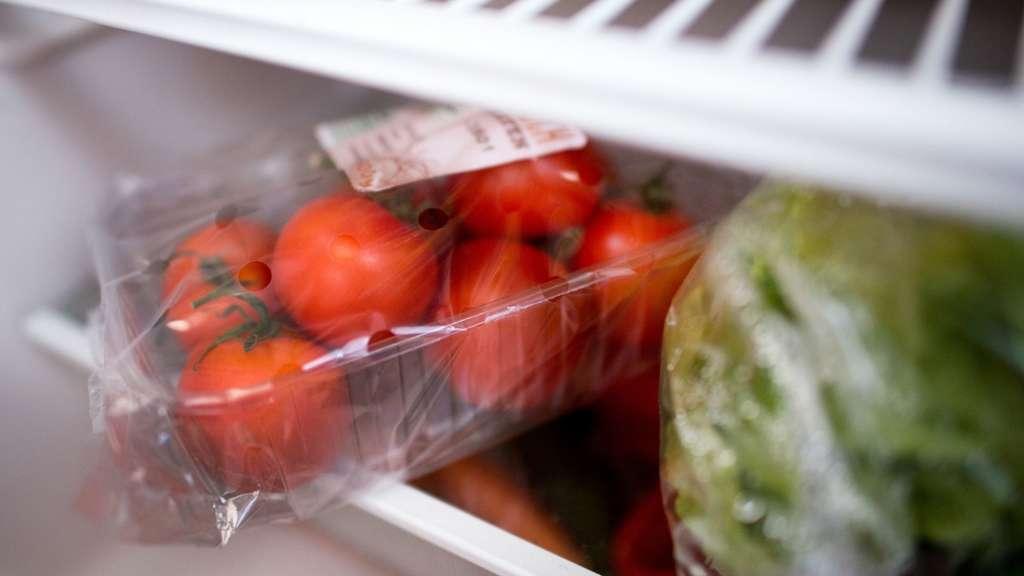 Lebensmittel Im Kühlschrank Gefroren
