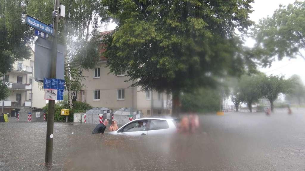 Unwetter Ruhrgebiet