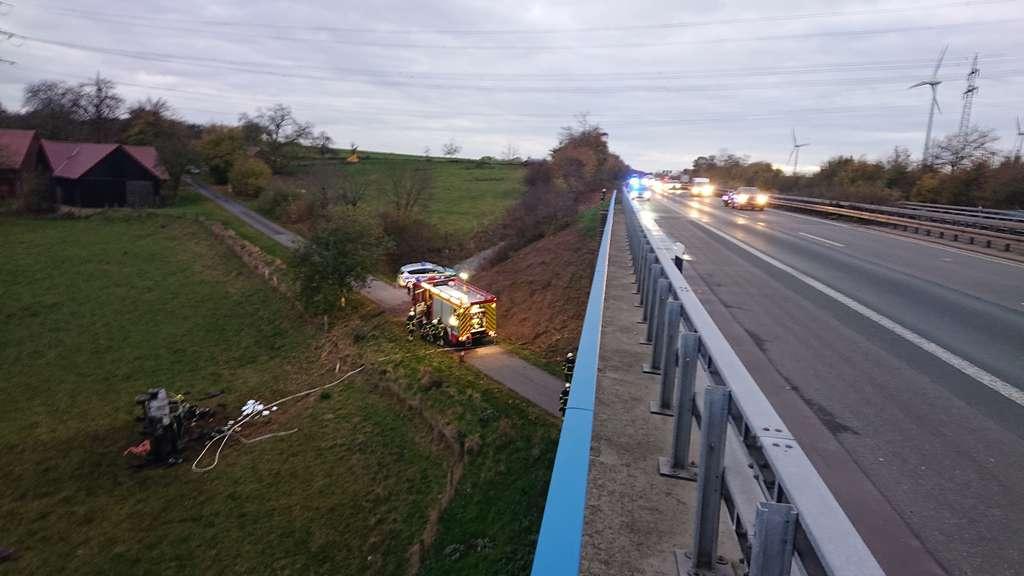 Polizei Unfall A44