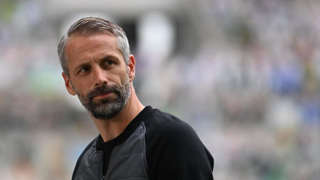 Gladbach-Trainer Marco Rose BVB