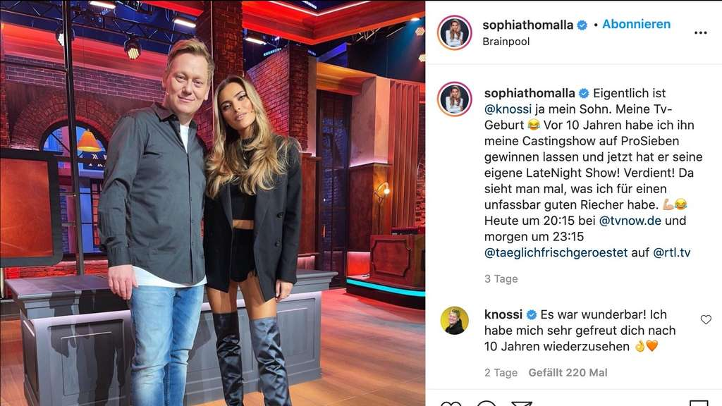 Sophia Thomalla instagram
